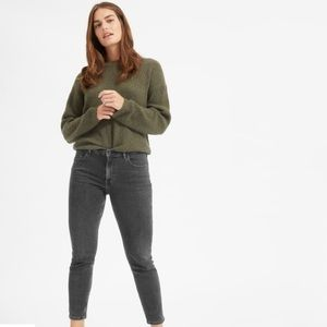 Everlane mid-rise skinny stretch jeans